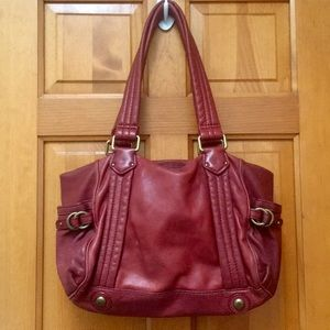 Red Leather Marc Jacobs Bag